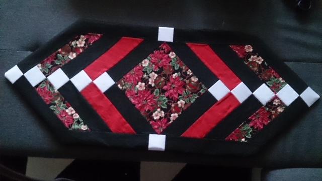 Black&Red Tische Laeufer