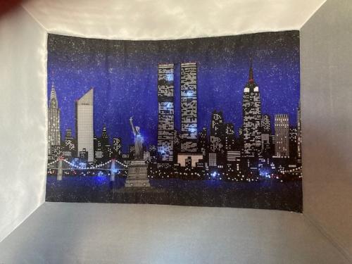 NY Skyline LED ON